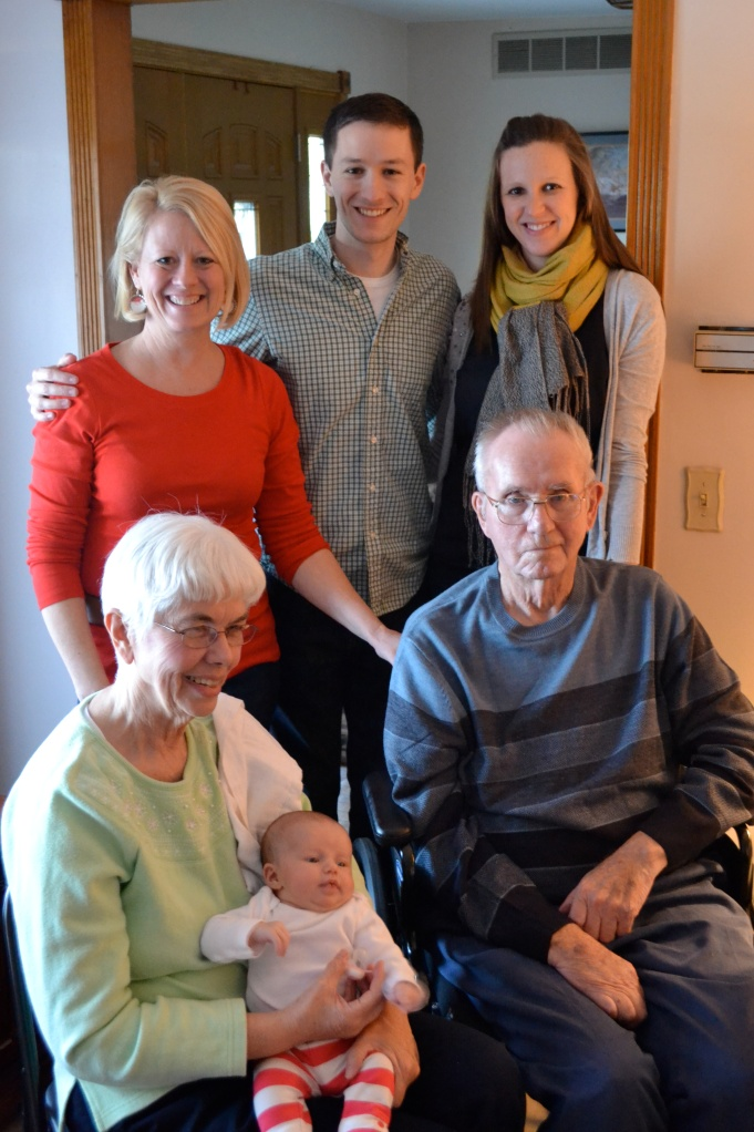 4 generations of Randolphs.