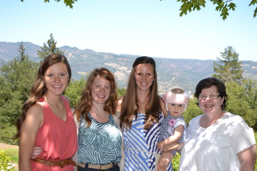 The ladies (minus Abby).