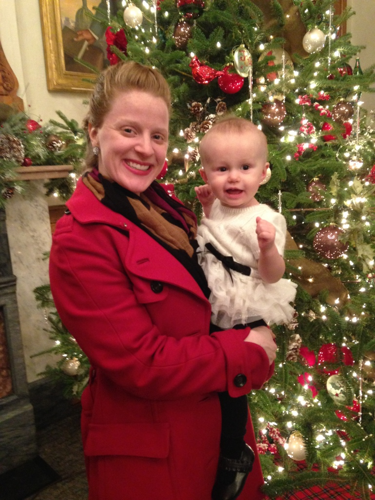 Christmas at the State Capitol with Auntie Marge.