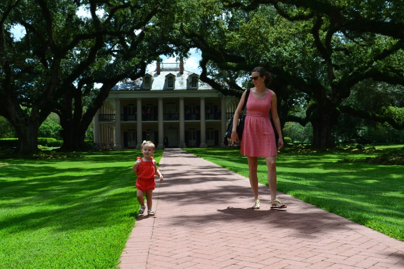 The beautiful Oak Alley Plantation.