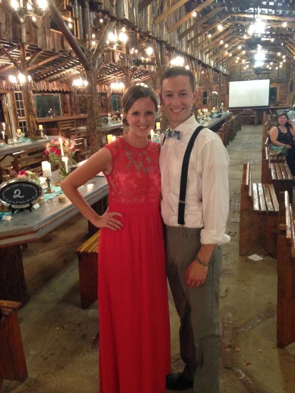 Amazing night for an amazing couple!