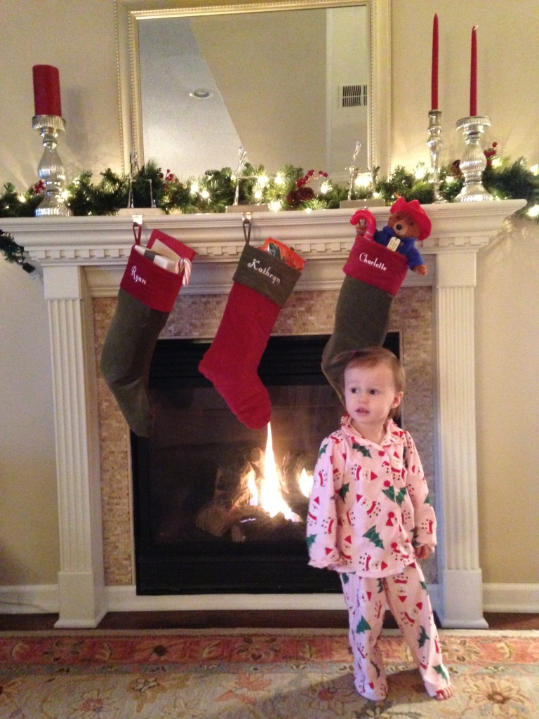 Christmas morning with Little Bit!