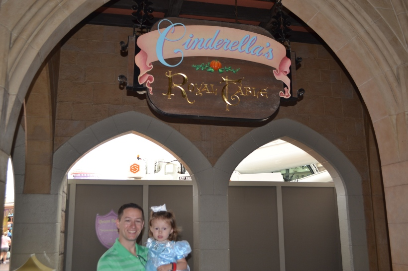 Breakfast at Cinderella's Royal Table!