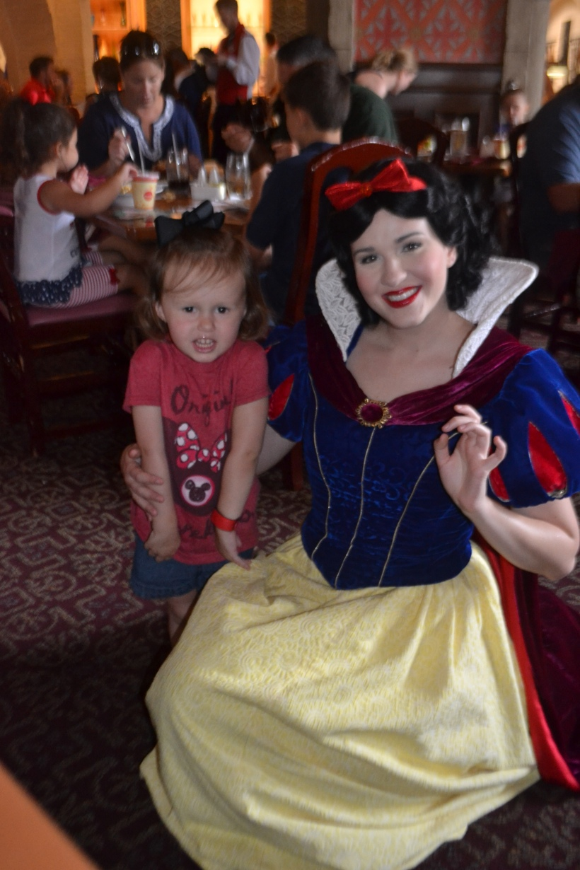 Fun fact: this Snow White was SO annoying.