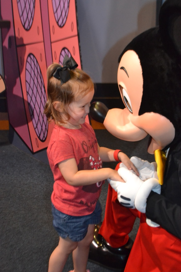 Charlotte loved Mickey -- I think the feeling was mutual.